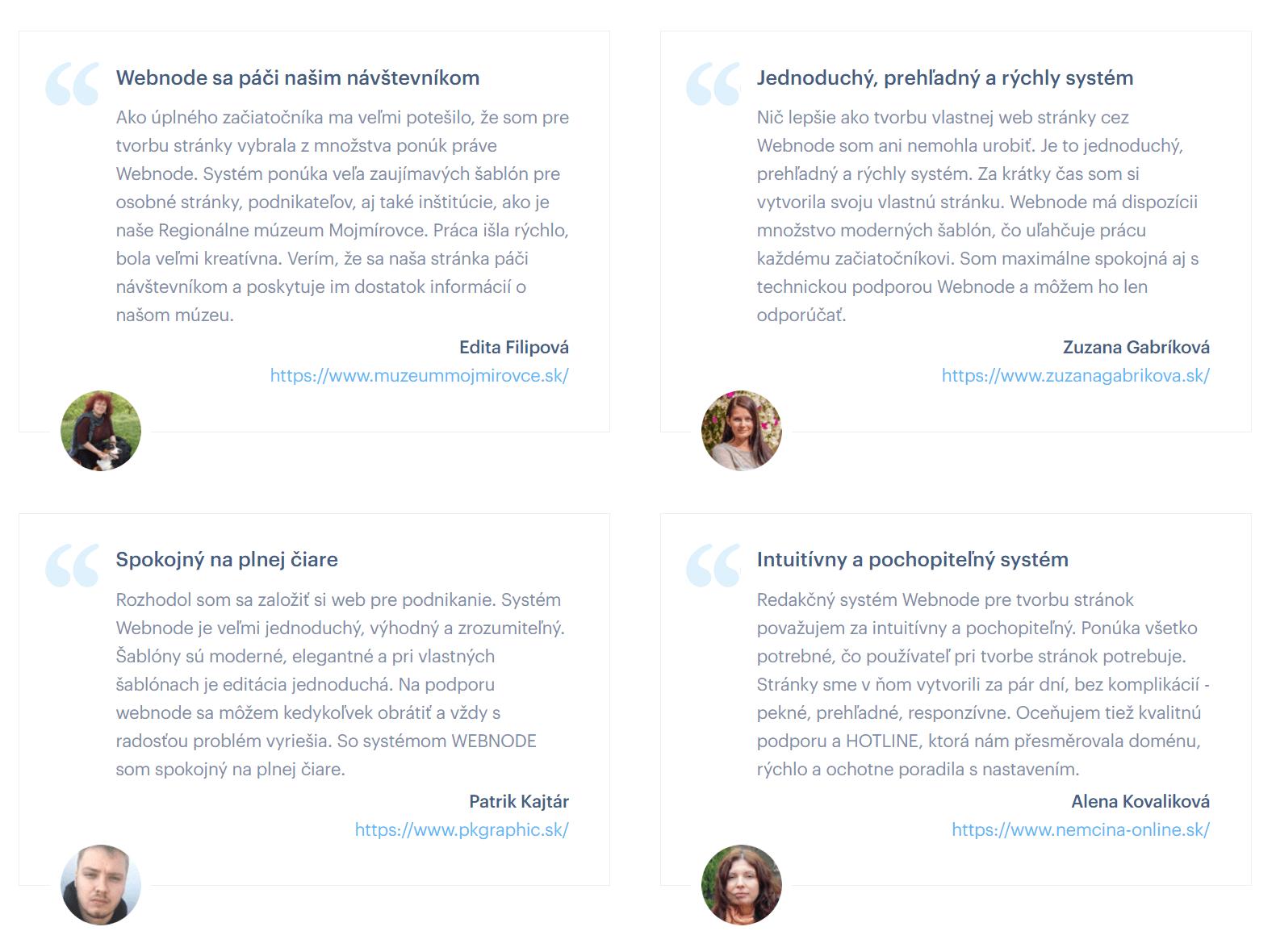 webnode - Recenze a zkušenosti uživatelů