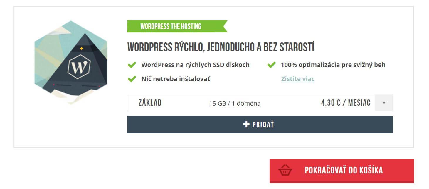 ako si založiť blog vo WordPress